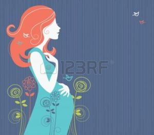 16200864-silhouette-de-femme-enceinte