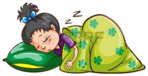 32853599-illustration-d-une-jeune-fille-dormir--poings-ferm-s-sur-un-fond-blanc